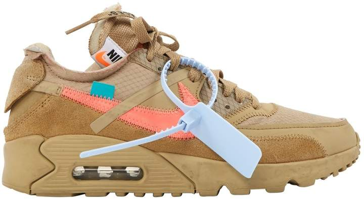 Air Max 90 Camel Suede Trainers