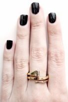 House Of Harlow All For the Want of A Horseshoe Ring in Gold