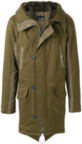 Yves Salomon hooded parka coat