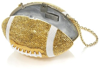 Judith Leiber Football Ball clutch bag