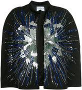 Osman Starburst embellished cape