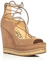 Sam Edelman Harriet Lace Up Wedge Sandals