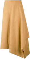 Stella McCartney asymmetric hem skirt - women - Polyamide - 40