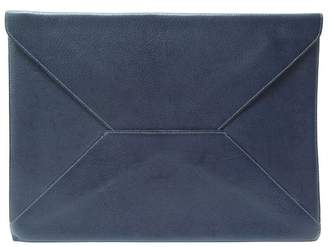 Hermes Blue Leather Clutch bags