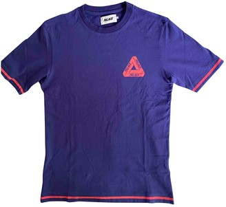 Palace Purple Cotton T-shirts
