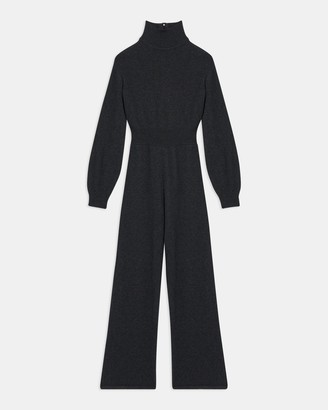 Theory Turtleneck Jumpsuit in Wool-Cashmere