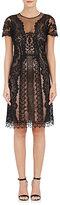 Alberta Ferretti WOMEN'S CHIFFON SLEEVELESS SHIFT DRESS