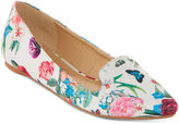 FIRST LOVE BY PENNY LOVES KENNY First Love Niche Flower Print Ballet Flats