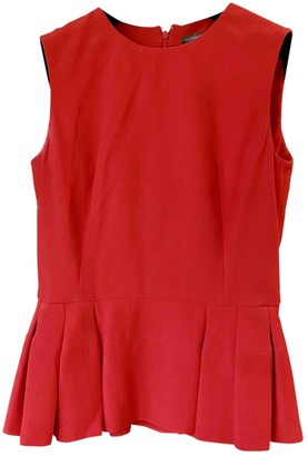 Alexander McQueen Red Top for Women