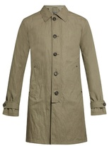 John Varvatos Button-down Cotton-blend Trench Coat