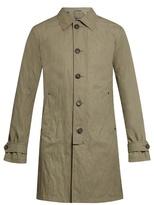 John Varvatos Button-down Cotton-blend Trench Coat