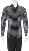 Tom Ford Plaid Woven Shirt w/ Tags