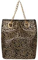 Black Lace Chain Pouch Crossbody Bag