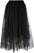 Brunello Cucinelli tulle midi skirt - women - Polyamide/Polyester - 44
