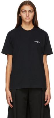 Comme des Garçons Homme Plus Black Logo T-Shirt