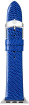 Michele 38mm Lizard Strap for Apple Watch, Cobalt