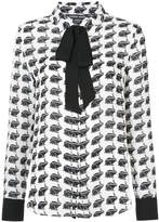 Thomas Wylde printed blouse