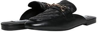 Steve Madden Kori-Q Mule (Black Leather) Women's Shoes