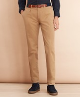 Brooks Brothers Pleat-Front Twill Chinos