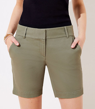 LOFT Riviera Shorts with 8 Inch Inseam