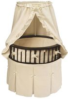 Badger Basket Oval Bassinet - Bows