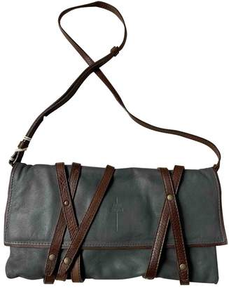 Jerome Dreyfuss Grey Leather Handbags