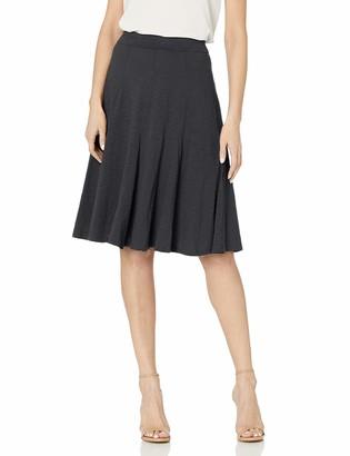 Sag Harbor Women's Pull-on Godet Skirt