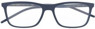 Dolce & Gabbana Eyewear Rectangular Frame Optical Glasses