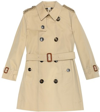 BURBERRY KIDS Cotton trench coat