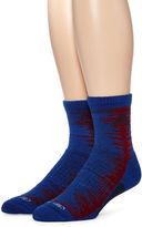 adidas Mens 2-pk. Frequency Cushioned Quarter Socks