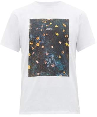 Saturdays NYC Transition-print Cotton T-shirt - Mens - White