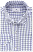Ryan Seacrest Distinction Ryan Seacrest Distinctionandtrade; Men's Slim-Fit Non-Iron Navy Check Dress Shirt, Created for Macy's