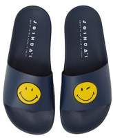 Joshua Sanders Smile Pool Slide Sandal