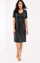 J. Jill Scoop-Neck Knit Dress