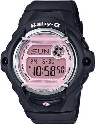 Baby-G BG169M-1D Matte Black and Pink Retro