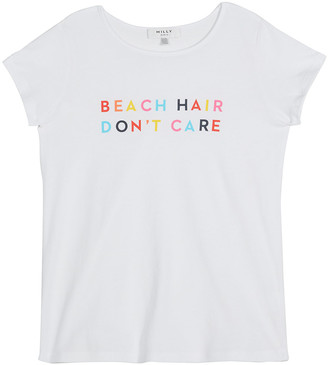 Milly Girl's Beach Hair Don't Care Rainbow Graphic T-Shirt, Size 7-16