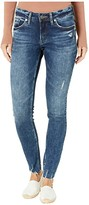 Silver Jeans Co. Elyse Mid-Rise Curvy Fit Skinny Jeans L03116SSX347 (Indigo) Women's Jeans