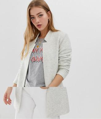 Only high neck jacket-Beige