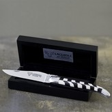 Laguiole En Aubrac Ebony Wood & Ivory Folding Knife