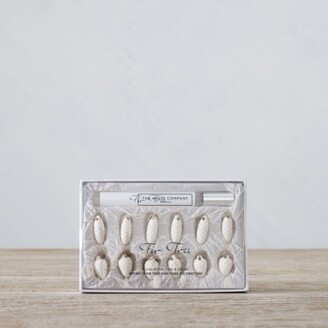 The White Company Fir Tree Scented Pine Cone Decorations Set of 12, No Colour, One Size