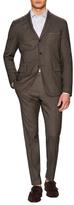 Boglioli Pindot Wool Notch Lapel Suit