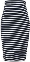 Topshop MATERNITY Stripe Tube Skirt