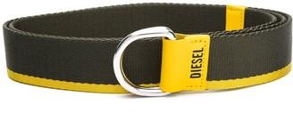 Diesel D-ring buckle belt