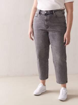 High-Rise Slim Cropped Jean - Addition Elle