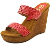 Sbicca Mariana Women Open Toe Synthetic Wedge Sandal.