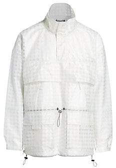 Madison Supply Men's See-Through Rain Jacket