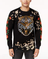 Reason Men's Beaded Embroidered Sweatshirt