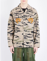 MHI Camouflage-print cotton jacket