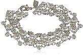 "Swarovski 1928 Jewelry ""Signature Crystal"" Genuine Bracelet, 7.5"""