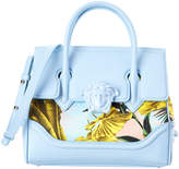 Versace Palm Palazzo Empire Leather Satchel
